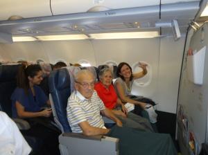 Primeira viagem do papai depois das 12 cirurgias de 2012 - rumo a São Paulo